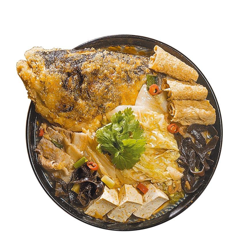 Global Mall今年首與林聰明沙鍋魚頭合作,推出經典沙鍋魚頭組合,2入1560元,預購價1500元。(Global Mall提供)