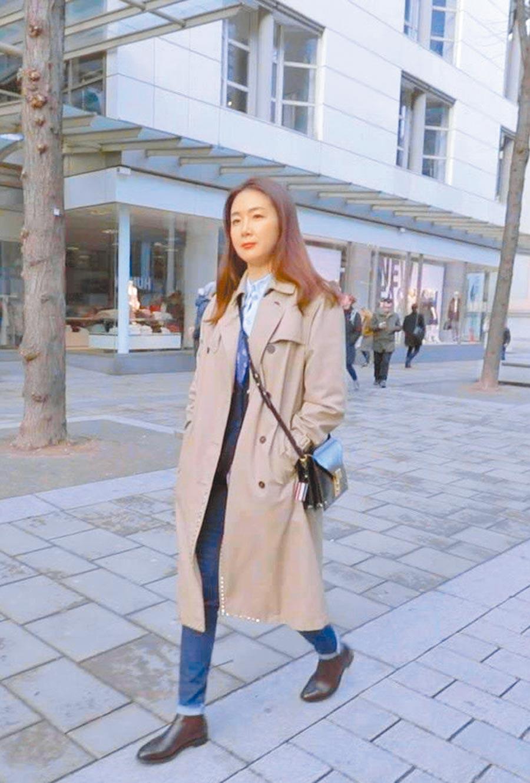 崔智友日前透過經紀公司宣布懷孕喜訊。(中天提供)