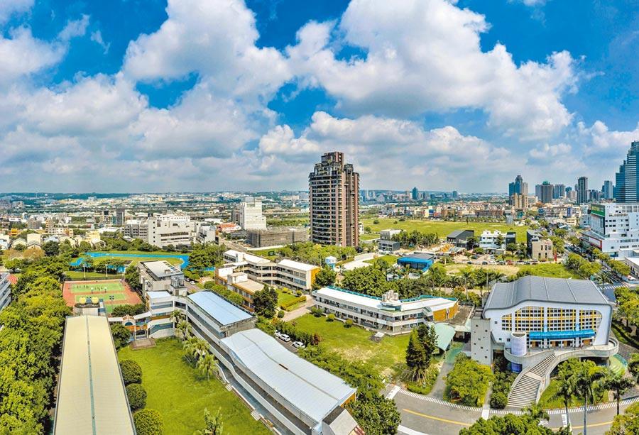 陸客在台灣買房卻不能長住。圖為台中熱門置產焦點。(業者提供)