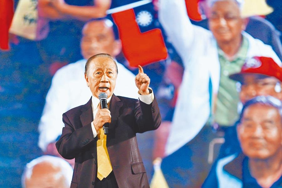 新黨主席郁慕明。(本報系資料照片)