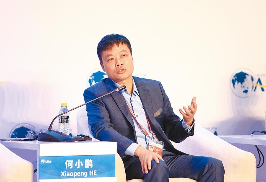 小鵬汽車董事長何小鵬。(新華社資料照片)