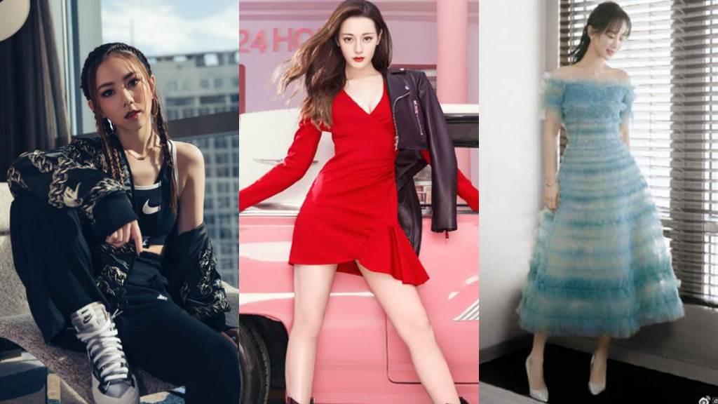 2019年大陸「網路聲量最高」90後TOP10女星。(圖/摘自IG@ gem0816、微博@MissSixty、Fashiontalker)