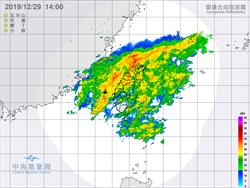 韓粉注意!11縣市大雨特報 鄭明典:這冬雨很顯著
