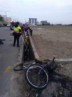 退休偵查隊長騎腳踏車疑自摔身亡 陳屍排水溝