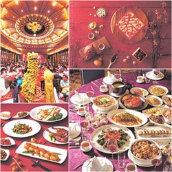金鼠迎春 飯店盛宴圍爐賀新年