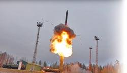 全球首款洲際極音速 俄先鋒彈頭服役