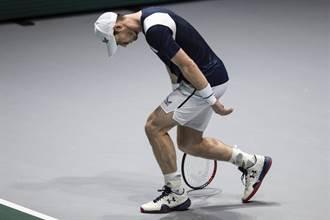 回歸失敗!莫瑞被迫放棄澳網