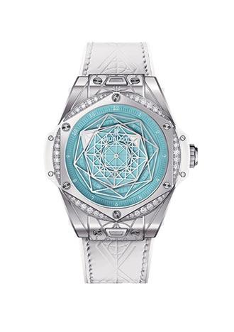 HUBLOT綠松石腕錶全球限量50只