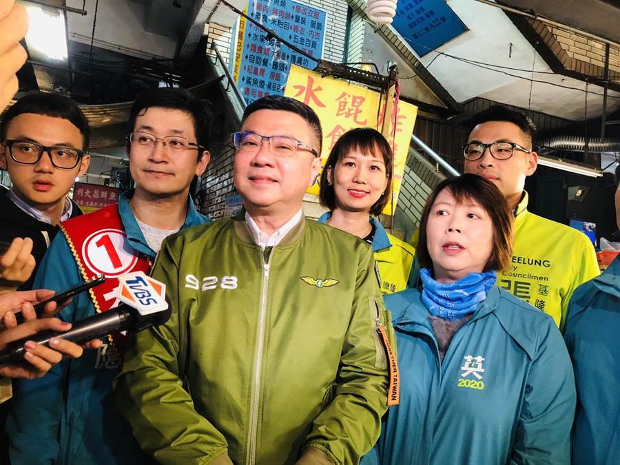 民進黨主席卓榮泰:絕無想要踩死小黨,但民進黨抽血一千西西,不就昏倒了。(本報資料照)