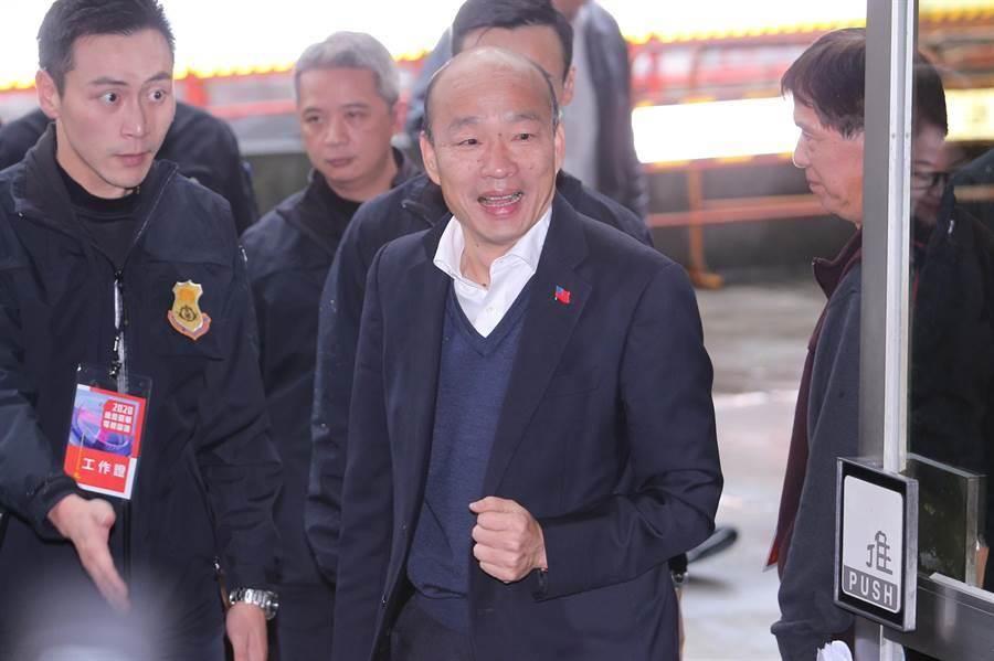 國民黨總統參選人韓國瑜。(黃世麒攝)