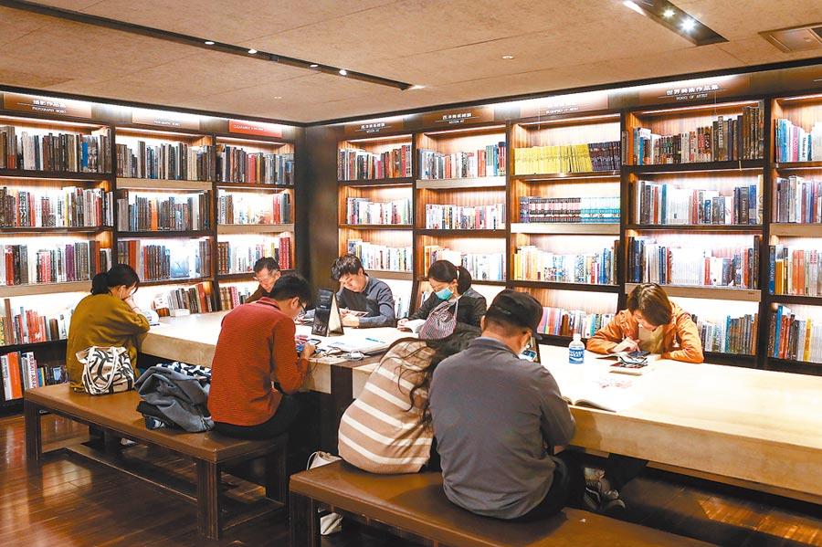 敦南誠品將於2020年5月31日謝幕。圖為書店閱讀空間。(本報系資料照片)