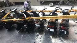 北市公寓6機車遭焚毀 警:疑自燃