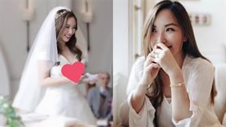 御姊愛婚紗「深V到胸下」網驚:原來身材這麼好