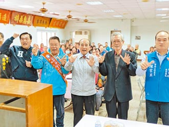 台南第一選區 蔡育輝端政見 搶攻海線三區選票