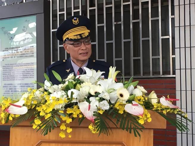 警政署副署長黃宗仁說,警政署絕不讓憾事再發生。(廖素慧攝)