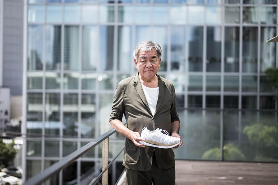 ASICS與日本建築大師隈研吾聯手打造METARIDE AMU跑鞋。(圖/品牌提供)