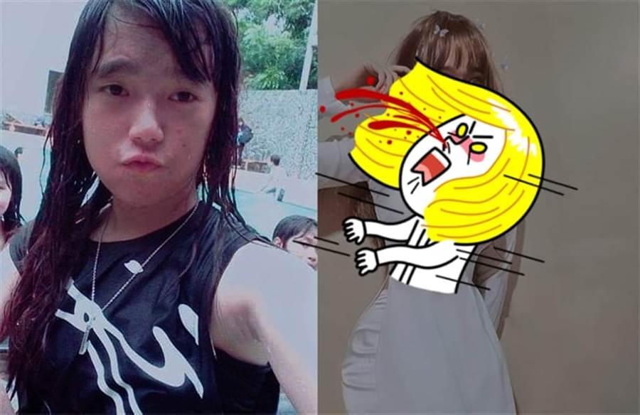 國中妹被笑像男的 2年後穿奧黛辣曬曲線(圖翻攝自/saostar.vn/)