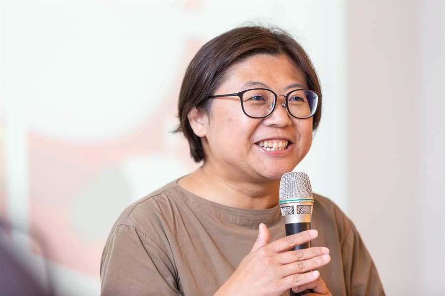 陳惠敏認為,社會安全網從社區落實做起,也需要專業力量進入支持。(袁庭堯攝)