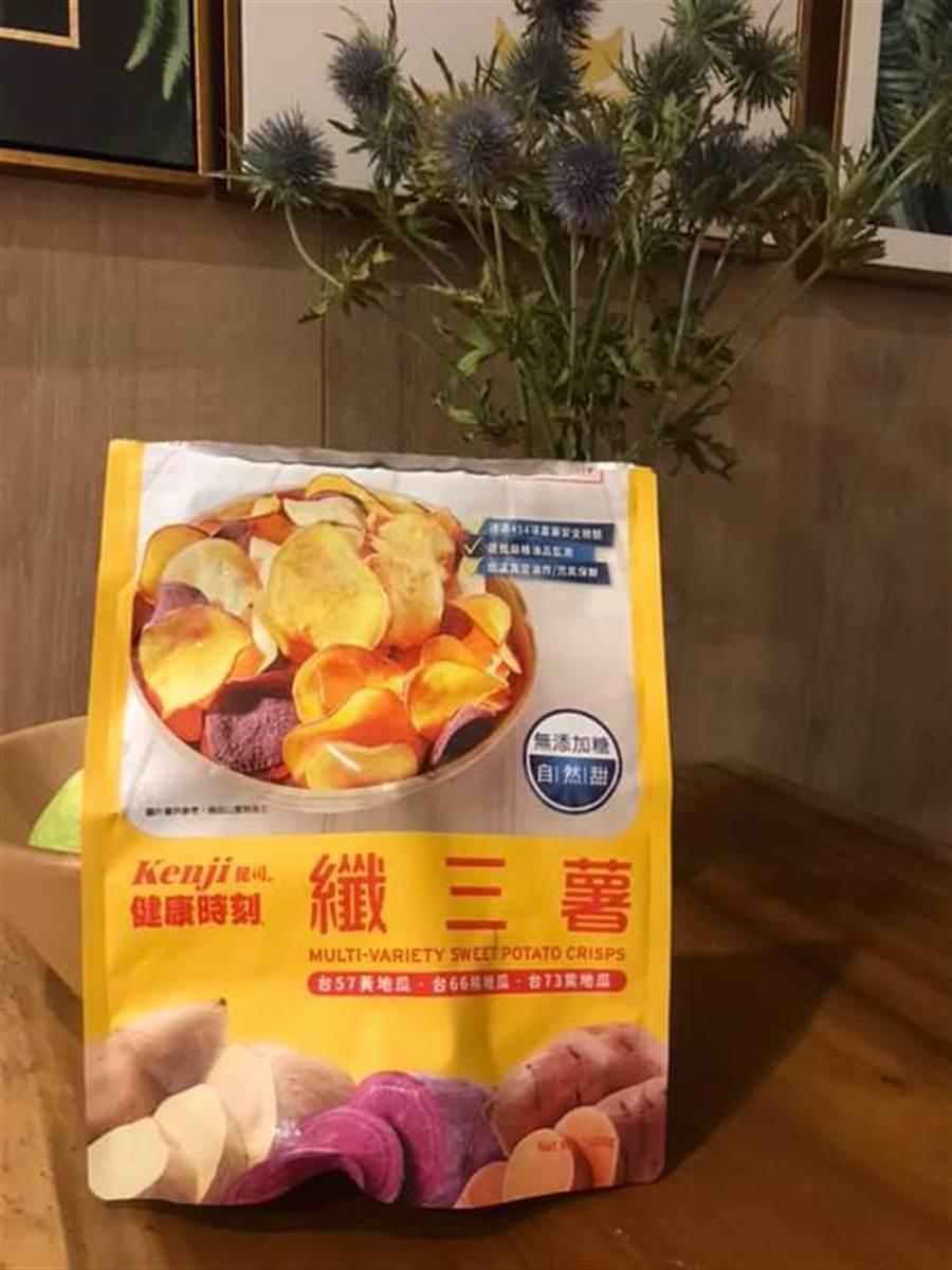 纖三薯讓許多網友吃了停不下來。(摘自臉書社團《Costco好市多 商品經驗老實說》)
