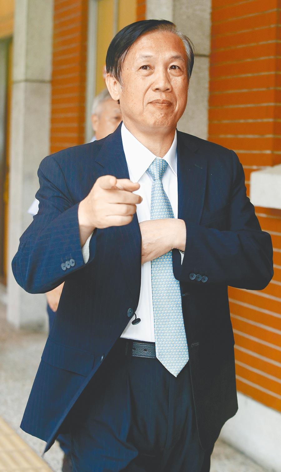 全國商業總會理事長賴正鎰針對反滲透法,建議民進黨三思,應待下任立委充分討論後再通過立法。(本報資料照片)