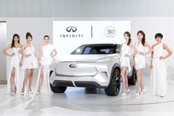 INFINITI慶祝品牌30周年 台北車展發表純電概念休旅QX