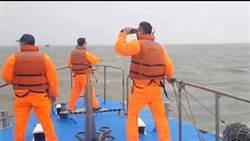 大陸漁船金門翻覆  5人落海失蹤搜尋中