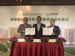 台銀圓山站都更案簽約 麗寶投資43億元