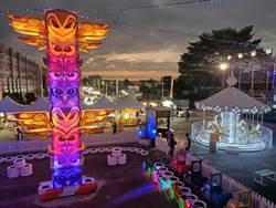 貓頭鷹廣場跨年夜開幕 全台最大「愛情鎖」在草屯