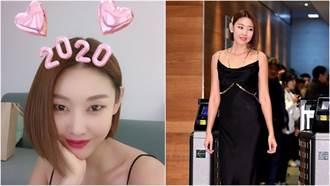 南韓林志玲貼身禮服超火辣!「背部全裸秀性感腰窩」網暴動