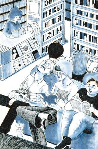 消失的租書店 在漫畫裡重現