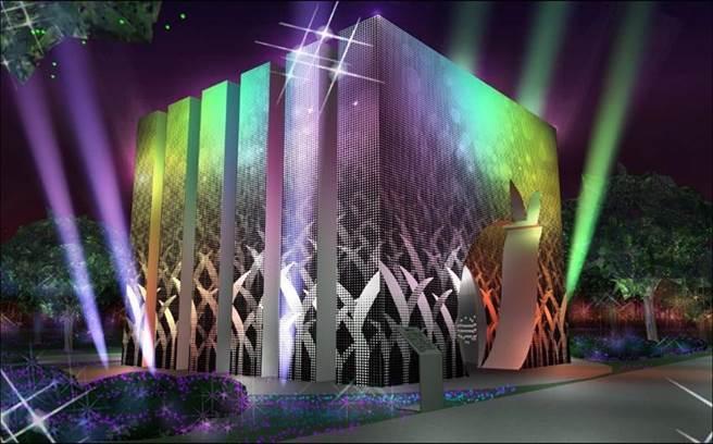 觀光局今(31)日公布「2020台灣燈會」的副燈設計,圖為福賜大地示意圖。圖/觀光局提供