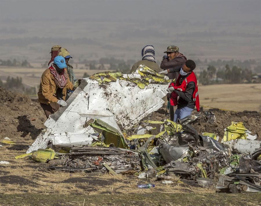 衣索匹亞航空波音737-800 Max客機空難,造成機上157人全數罹難。(美聯社)