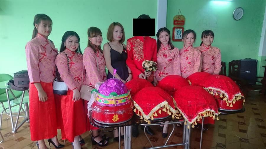 原PO表弟也娶了越南籍女子。(摘自批踢踢)