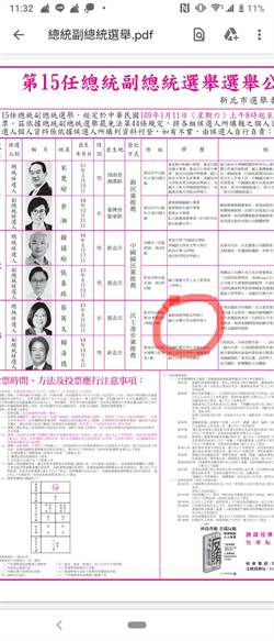 選舉公報驚見小英「博士」 網:快去包圍中選會!