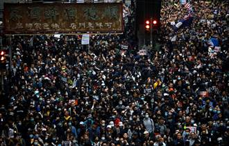 港2020首場示威粗估逾百萬人 銅鑼灣400人被捕