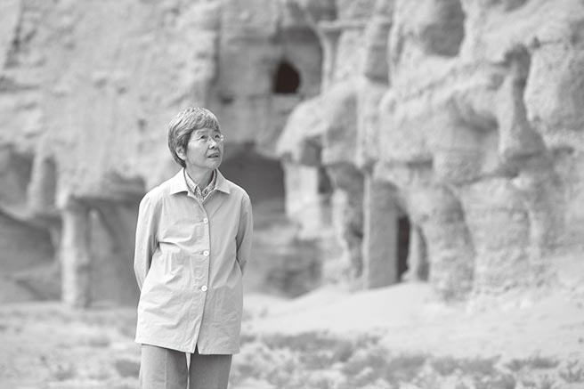 敦煌研究院名譽院長樊錦詩在敦煌莫高窟:「只要一息尚存,就要為敦煌努力」。(新華社資料照片)