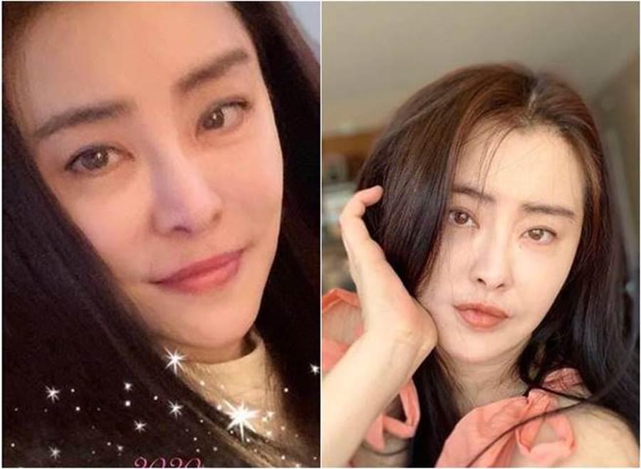 王祖賢在2020第一天曬新照,應祝賀新年。(圖/取材自王祖賢 Instagram)
