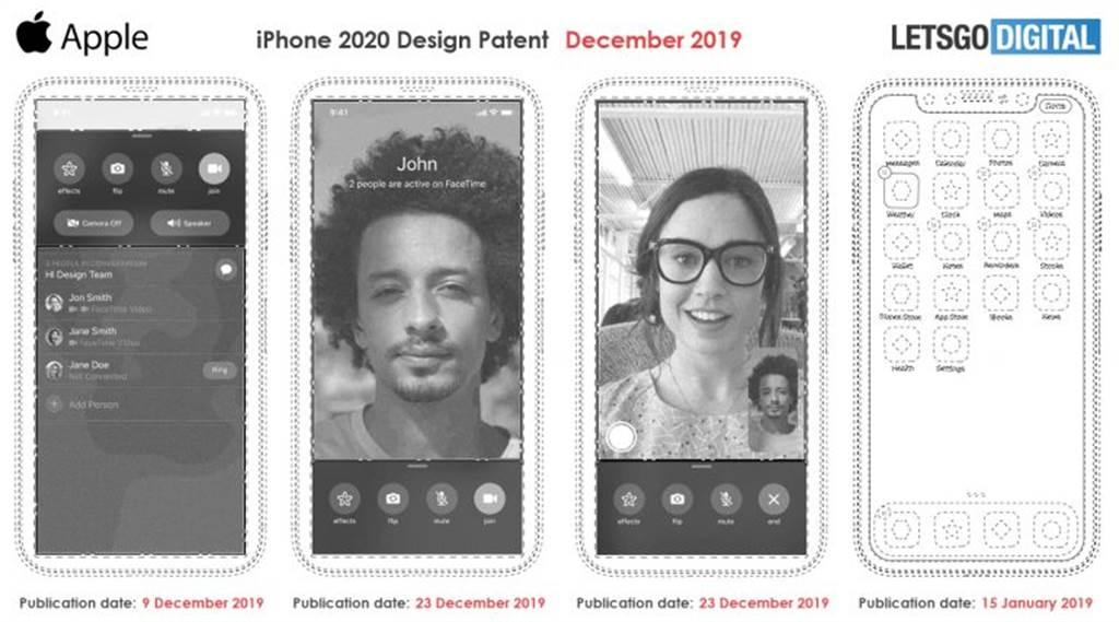 法國媒體報導,認為從專利文件來看,蘋果有計畫推出「無瀏海」的iPhone,且打算棄用 Face ID,改用螢幕下指紋解鎖技術。(摘自LetsGoDigital)