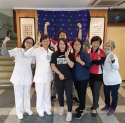 台灣之光舉重女將郭婞淳 行善義舉感動台東聖母醫院