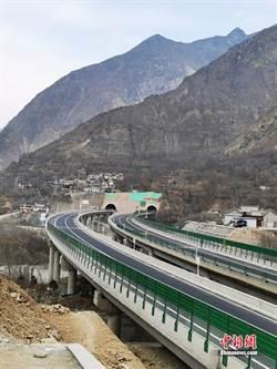 甘肅渭武高速隴南段建成通車
