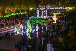 迪士尼超吸睛 台中耶誕燈展落幕 百萬人次朝聖