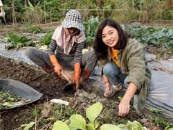 中正大學學生黃語晨 開闢社區菜園助老人共餐