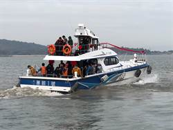 海上暢遊金門  新遊艇「萬順一號」首航