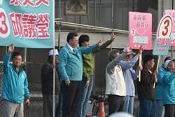 選戰倒數   高市第一選區藍綠立委候選人分別訪戶、站街催票