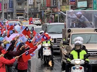 選戰倒數 張善政陪同李永萍掃街拜票