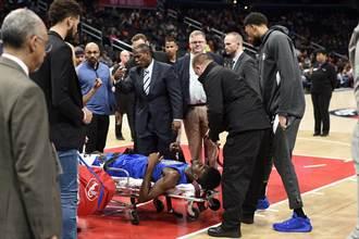 NBA》驚悚畫面!艾薩克重傷被抬出場