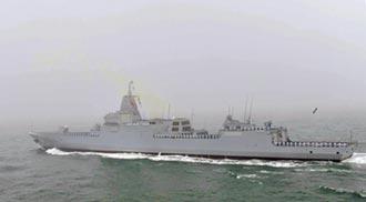 雙航母時代 6艘055大驅下水