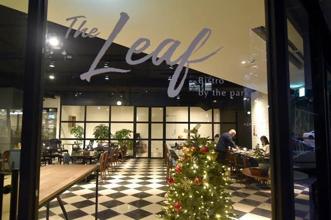 位在台北內湖陽光街的〈The Leaf〉,目前只有中午營業,晚餐則只接受包場預約,有點像私廚。(圖/姚舜)