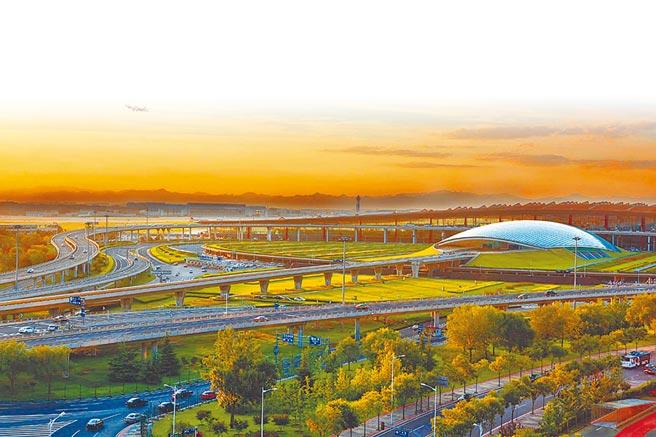 北京首都國際機場。(取自新浪微博@首都機場)