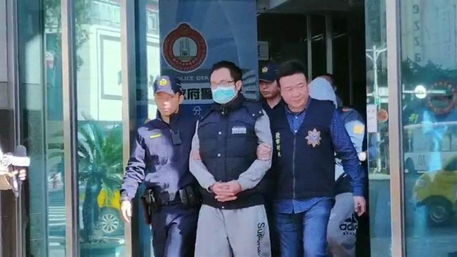 警方將陳嫌等4人依公共危險罪嫌移送法辦。(翻攝照片/林郁平台北傳真)